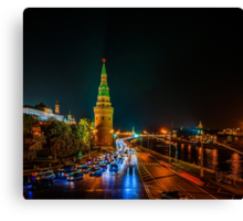Calendar Moscow Kremlin 2015 and 2016. July Canvas Print