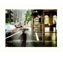 Sydney Downpour Art Print
