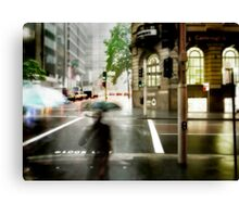 Sydney Downpour Canvas Print