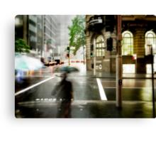 Sydney Downpour Canvas Print