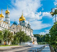 Calendar Moscow Kremlin 2015 and 2016. August by luckypixel