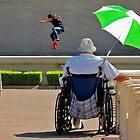 Balboa Park--San Diego Contrasts by milton ginos