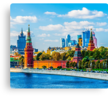 Calendar Moscow Kremlin 2015 and 2016. September Canvas Print