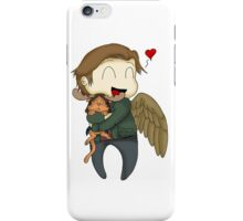 The trickster and the moose kitten iPhone Case/Skin