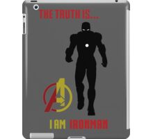 Iron Man in Avengers iPad Case/Skin
