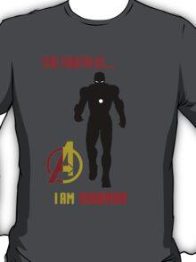 Iron Man in Avengers T-Shirt