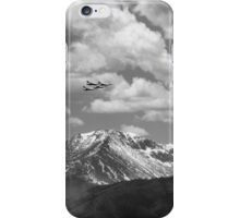 Thunderbirds fly by Pikes Peak iPhone Case/Skin