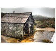 Lake Dove Boat house Poster