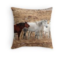 White's Boring Throw Pillow