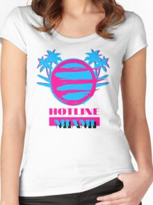Hotline Miami: Vice Women's Fitted Scoop T-Shirt