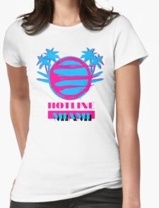 Hotline Miami: Vice Womens Fitted T-Shirt