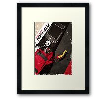 death proof quentin tarantino movie Framed Print