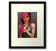 Doll Nikki Framed Print