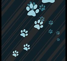 Cat paw prints  by OnlyBeautiful