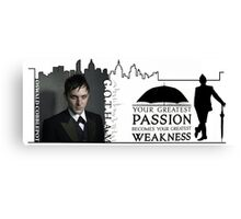 Gotham -- Penguin -- Greatest Weakness Canvas Print