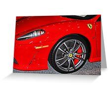 Ferrari 2 Greeting Card