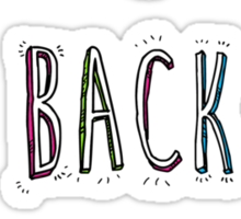 Back To The Start? Sticker