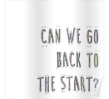 Back To The Start? Poster