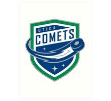 Utica Comets Art Print