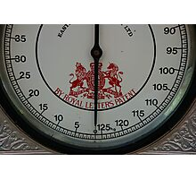 Weigh To Go Photographic Print