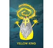 ice yellow king adventure time and true detective mashup Photographic Print