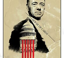 house of cards frank underwood by I am  Loudness