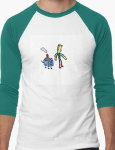 Doozy and Doghouse Men's Baseball ¾ T-Shirt