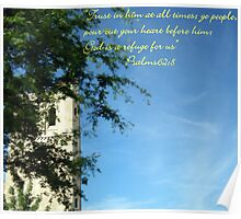 Psalms 62:8 Poster