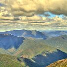 Shadowlands - High Country, from Mount Beauty - The HDR Experience by Philip Johnson