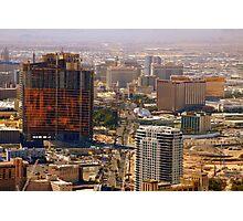 Construction City Photographic Print