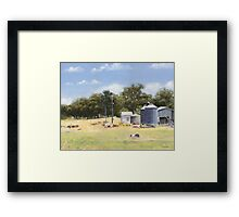 Mid-day at Fardell's Corner Framed Print