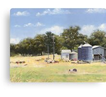 Mid-day at Fardell's Corner Canvas Print