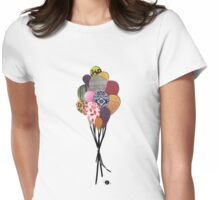 Bunch-O-Balloon Womens Fitted T-Shirt