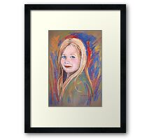 Portrait of Abigail Framed Print