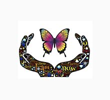 Butterfly in Open Hands Unisex T-Shirt