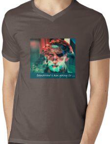 tomorrow i am going to.... Mens V-Neck T-Shirt