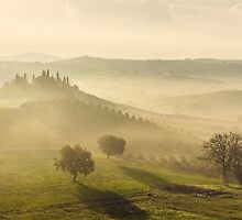 Tuscany morning by Anton Rostovskiy