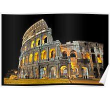 Roman Coliseum, Italy Poster