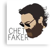 Chet Faker - Minimalistic Print Canvas Print