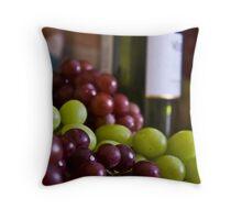 Great Grapes! Throw Pillow