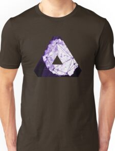 Abstract Geometry: Poison Violet (Dark Purple/Violet) Unisex T-Shirt