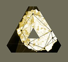 Abstract Geometry: Sand Palace (Deus Ex Gold) by Thomas Erlandsen