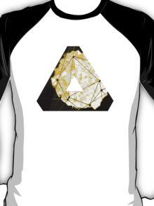 OVERWERK (abstract gold/sand/Deus Ex) T-Shirt