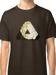 Abstract Geometry: Sand Palace (Deus Ex Gold) Classic T-Shirt