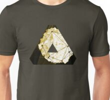 Abstract Geometry: Sand Palace (Deus Ex Gold) Unisex T-Shirt