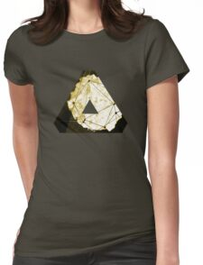Abstract Geometry: Sand Palace (Deus Ex Gold) Womens Fitted T-Shirt
