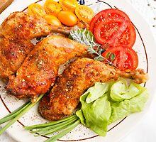 Roasted turkey by Artur Mroszczyk