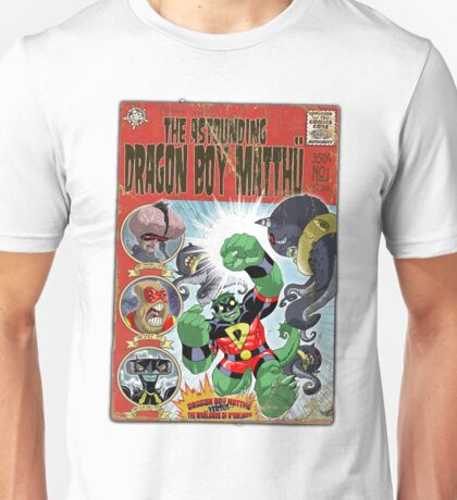 The Astounding Dragon Boy MatthÜ T-Shirt