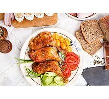 Roasted turkey Photographic Print