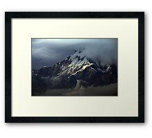Base of Machapuchare ~ Nepal Framed Print